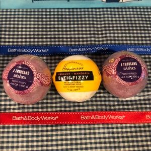 NWT Bath & Body Works Large 4.6 oz bath fizzy